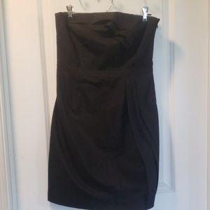 Ann Taylor LOFT strapless mini dress